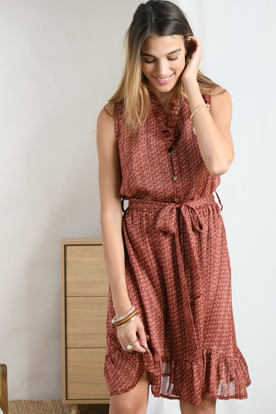 ABITO RUST COULISSE MOLLY BRACKEN